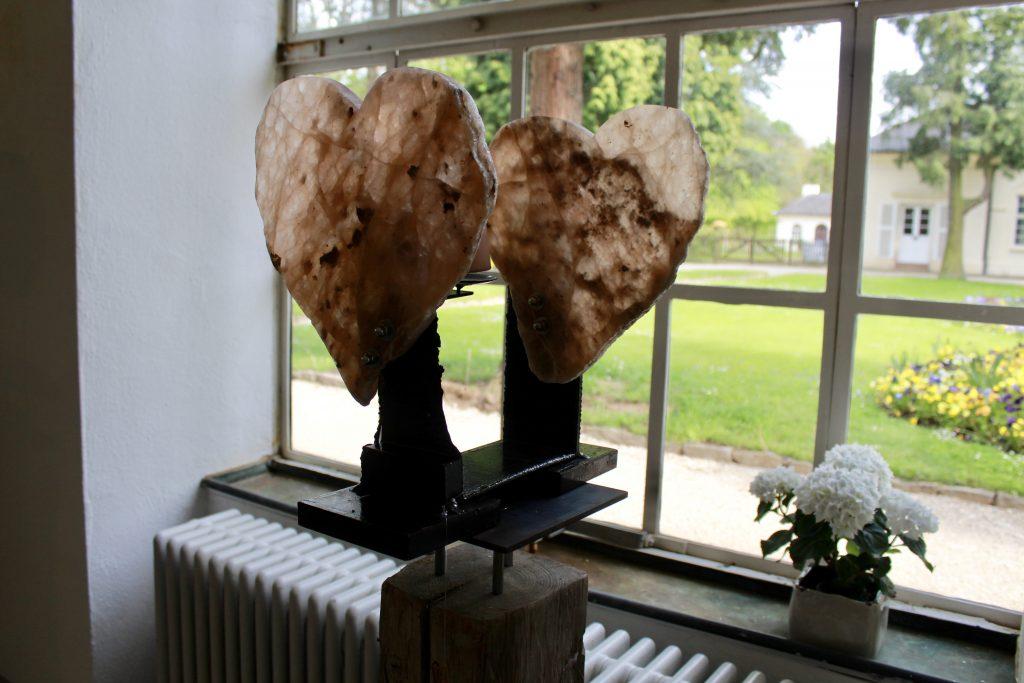 Leuchtende Herzen (Alabaster)